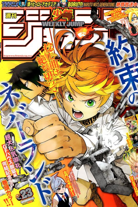 You are reading The Promised Neverland Chapter 37 in English. Read Chapter 37 of The Promised Neverland manga online. Manga Art, Anime Art, Manga Anime, Manga Covers, Comic Covers, Wall Prints, Poster Prints, Collage Mural, Japon Illustration