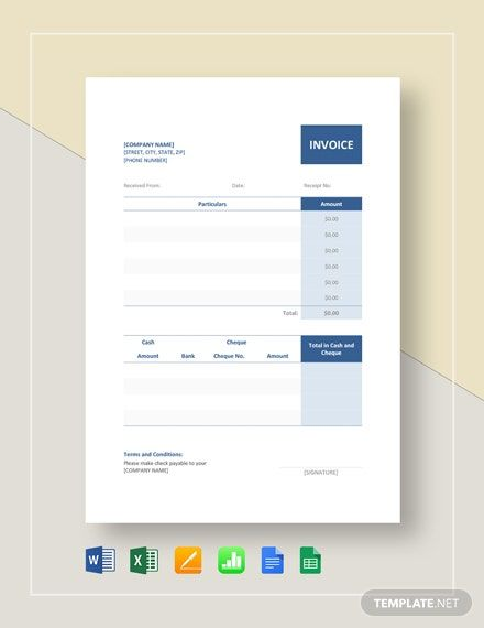 Instantly Download Official Receipt Template Sample Example In Microsoft Word Doc Microsoft Excel In 2020 Receipt Template Budget Template Free Receipt Template