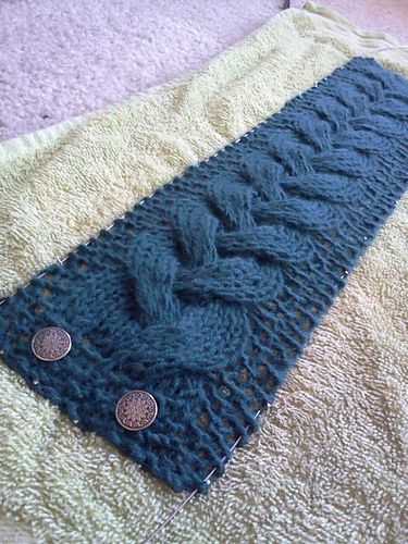 Braid Cable Headband by Molly Jane Wick
