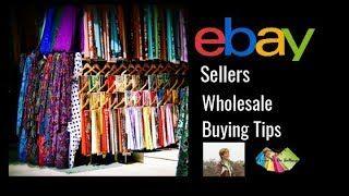 Ebay Sellers Wholesale Buying Tips Youtube Ebay Selling Tips Selling On Ebay Ebay
