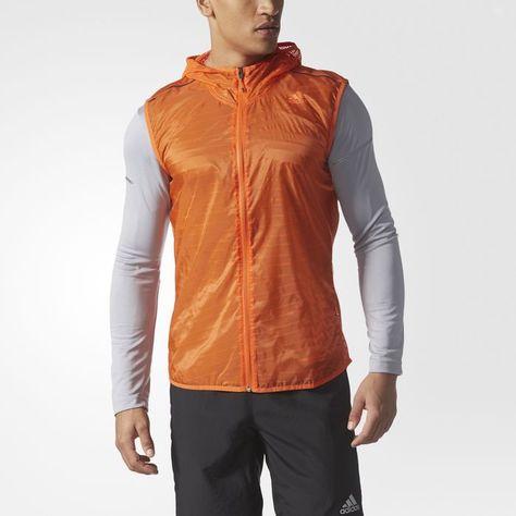 adidas Supernova TKO Flock Print Vest Mens Running Vests