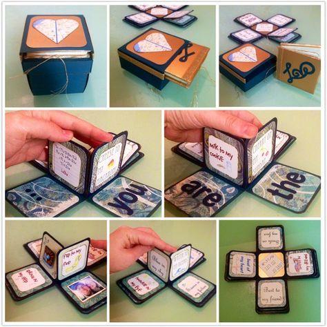 51+ Trendy Birthday Boyfriend Ideas Gift Exploding Boxes
