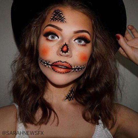Spiksplinternieuw Scary halloween makeup for kids #scary #halloween #makeup YB-12