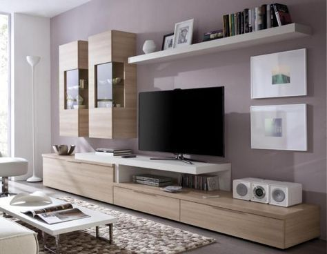 Lovely Tv Wall Storage Cabinets