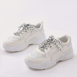 Fiyah Chunky Trainer White | Sneaker