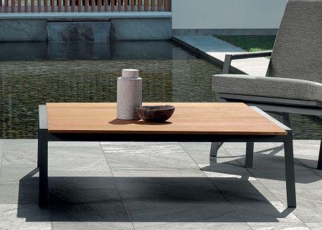 Table Basse D Exterieur En Bois Design Et De Qualite Talenti Chez Ksl Living Table Basse Jardin Table Basse Mobilier De Salon