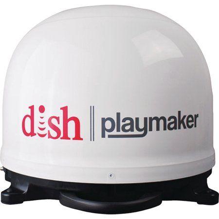 Winegard Dish Playmaker Portable Automatic Satellite Antenna Single Output Walmart Com Satellite Antenna Satellite Tv Tv Antenna
