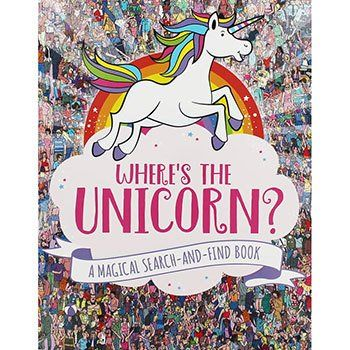 Wheres The Unicorn A Magical Search And Find Book Unicorn Books Search And Find Unicorn Gifts