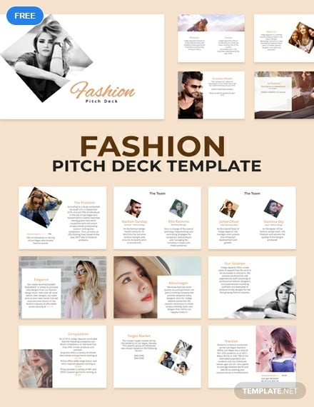 Download This Pitch Deck You Can Download For Your Fashion Presentation This T Powerpoint Design Templates Powerpoint Template Free Presentation Template Free