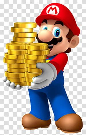 Super Mario Holding Coins Illustration Super Mario Bros 2 Super Mario Odyssey Holding Gold Coins Transparent Backgrou In 2021 Mario Characters Golden Birthday Mario