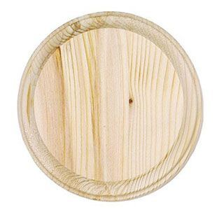 4 Inch Round Unfinished Wood Plaque Unfinished Wood Plaques Wood Plaques Wood Circles