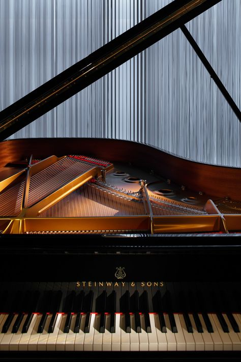 piano photography steinway-and-sons-flagship-shop- - photography Piano Art, Piano Music, Steinway Grand Piano, Grand Pianos, Piano Shop, Piano Photography, Music Wallpaper, Wallpaper Quotes, Music Aesthetic