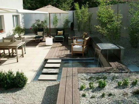 Kleiner Garten Mit Wasser Gärtner Von Eden Garten