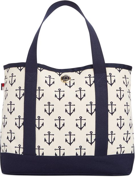34458f25e9 Tommy Hilfiger TH Totes Canvas Small Tote on shopstyle.com