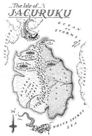 Malazan Book Of The Fallen Map : malazan, fallen, Jacuruku