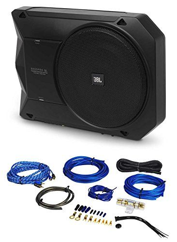 JBL 8 125W RMS Powered Under-Seat Compact Subwoofer Enclosure System BassPro SL