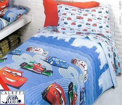 Copriletto Trapuntato Trapuntino Disney Caleffi Cars Team 95 Singolo 1 Piazza Ebay In 2021 Blanket Bed Comforters