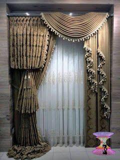 احدث كتالوج صور ستائر صالونات بتصميمات مودرن وكلاسيك 2020 Curtains Luxury Curtains Elegant Curtains