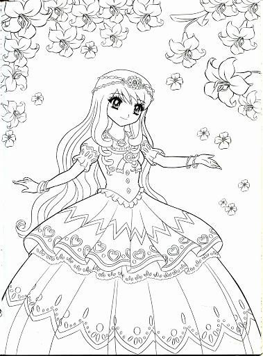 Anime Disney Princess Coloring Pages Lovely Coloring For The And Coloring Books On P Disney Princess Coloring Pages Cute Coloring Pages Princess Coloring Pages