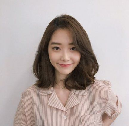 Hairstyles Curly Medium Hairdos 26 Trendy Ideas Medium Hair Styles Asian Short Hair Korean Short Hair