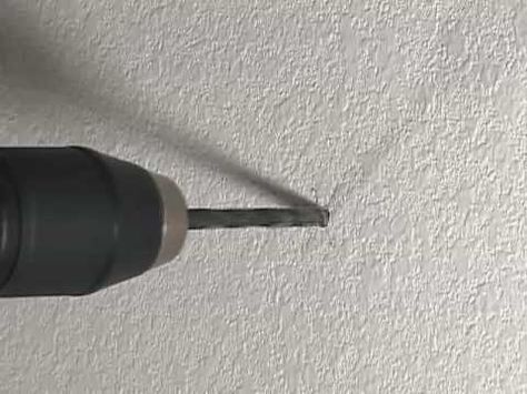 How To Drill Into Concrete 101 Drill Hanging Pictures Concrete