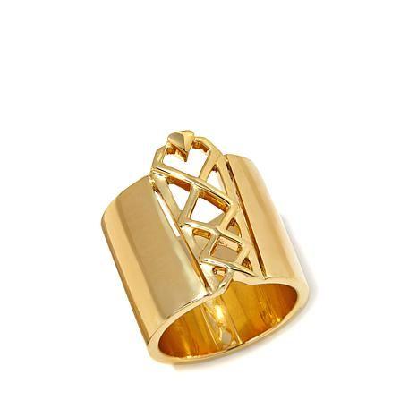 Diamonds Unleashed Corset Design Knuckle Ring