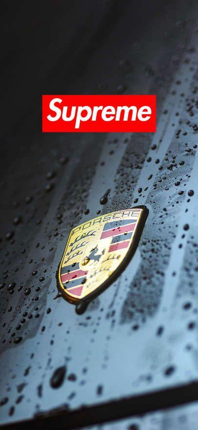 Download Wallpaper Iphone Xs Xr Xs Max Supreme Wallpaper Porsche