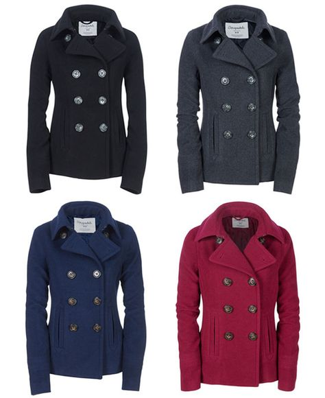 Nwt Aeropostale Aero Women Juniors Wool Peacoat Coat Jacket Xs S M L Xl Xxl