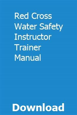 Water safety instructor trainer manual pdf download online full.