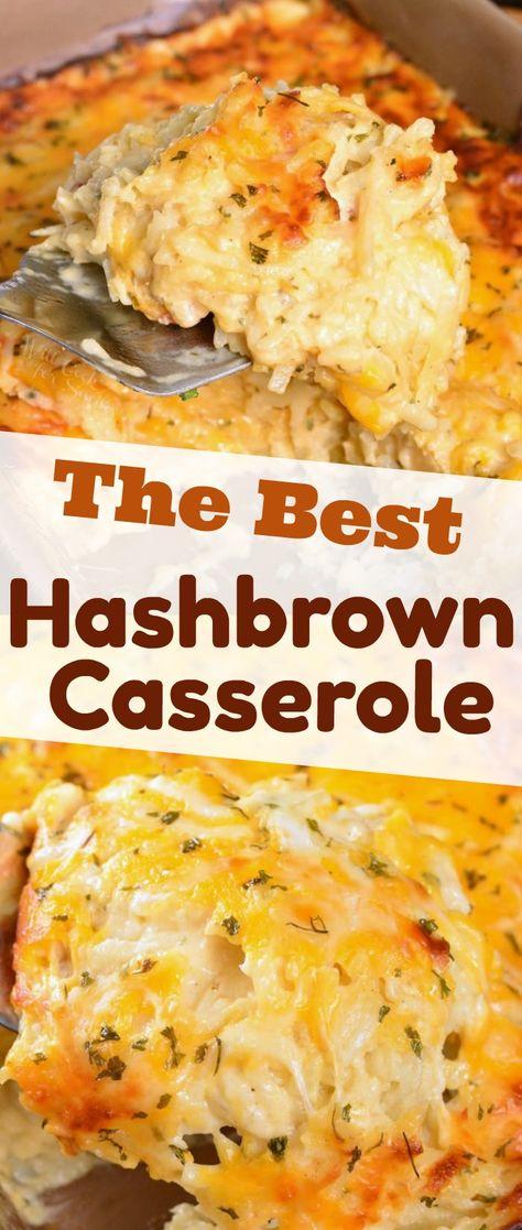 The BEST Hashbrown Casserole