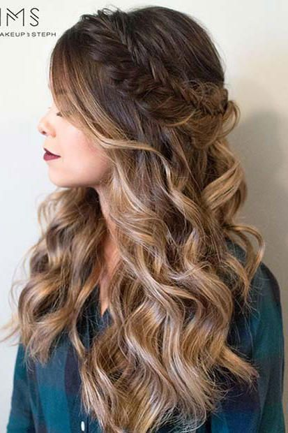 Our Favorite Curly Hairstyles Easy Hairstyles For Long Hair Hair Styles Picture Day Hair
