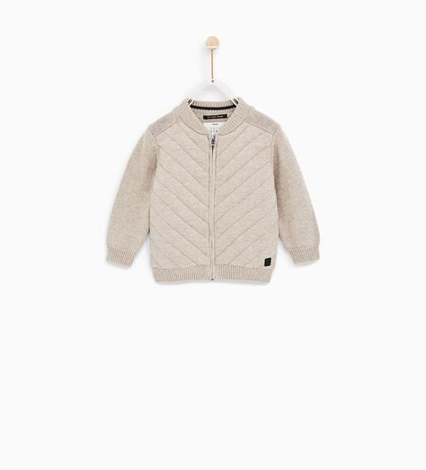 1f9ecf5033362 BASIC QUILTED JACKET-SWEATERS AND CARDIGANS-BABY BOY