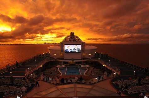 Settle in and watch the sun go down.