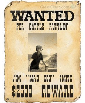 Make a Wanted Poster
