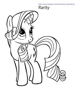 Squid Army My Little Pony Coloring Pages Buku Mewarnai Halaman Mewarnai My Little Pony