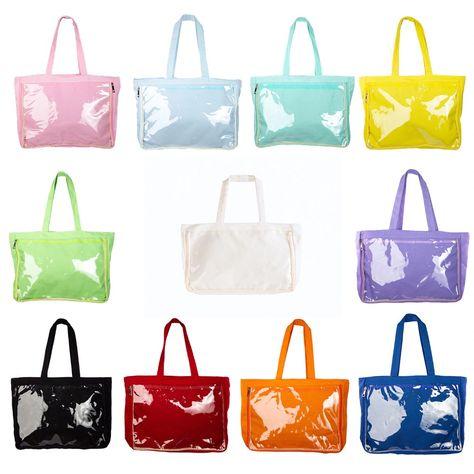 Anime Comic Show Canvas Messenger Bag Lolita Transparent Itabag Cosplay Handbag