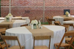 Table Runner Size For 5ft Round Table Burlap Runners Wedding