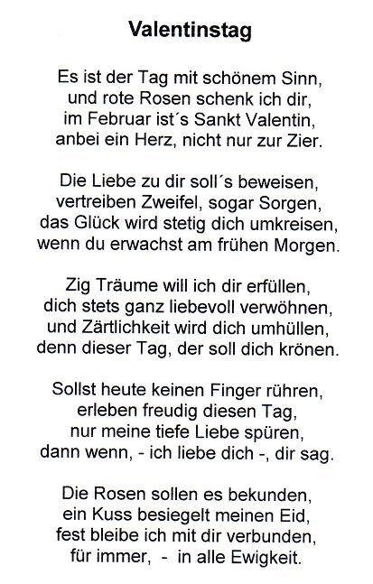 gedichte zum valentinstag