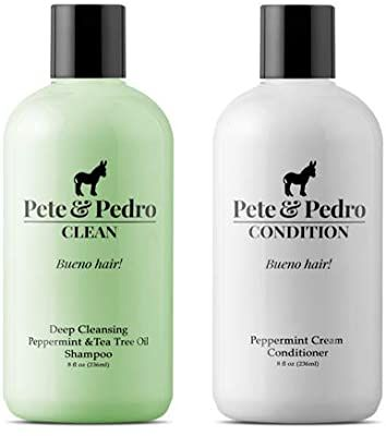 Pete And Pedro Clean Condition Combo Pack Tea Tree Oil Shampoo