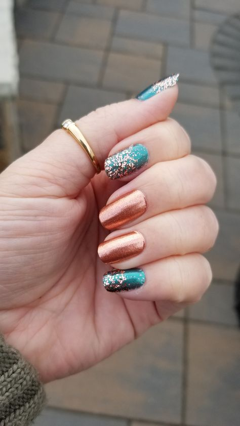 Moscow or Never, Holy Teal-edo & Coming Up Rose Gold