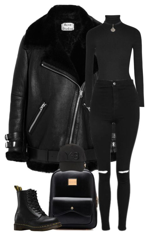 """""""Sans titre by girl-tour ❤ liked on Polyvor. Edgy Outfits, Winter Fashion Outfits, Cute Casual Outfits, Mode Outfits, Look Fashion, Winter Outfits, Womens Fashion, Fashion Weeks, Milan Fashion"""