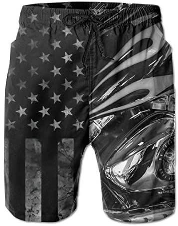 Women Beach Pants Cool Rider Skull Home Summer Surfing Board Shorts Swim Trunks