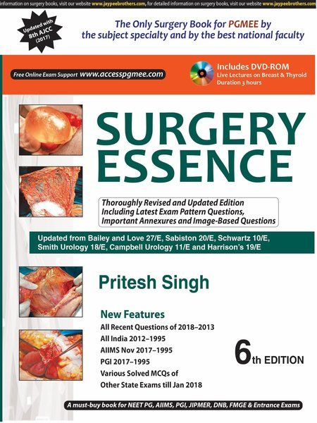 Surgery Essence by Pritesh Singh   Medical/ Dental PG