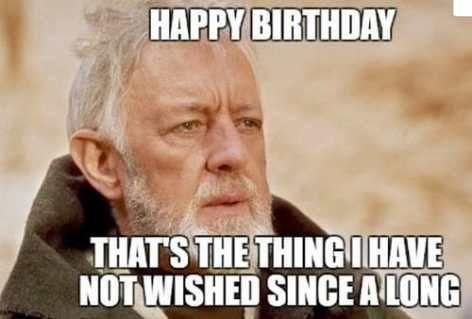 Star Wars Birthday Meme Funny Happy Birthday Meme Funny Birthday Meme Birthday Meme