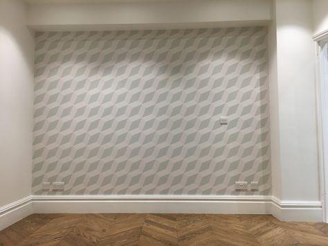 Milexa geometric wallpaper
