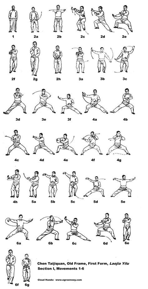 tai chi movements illustrations pdf | Martial arts | Martial