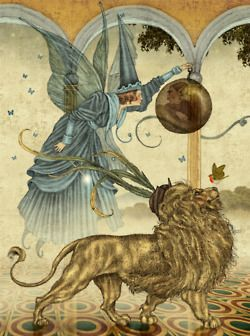 fer1972: Illustration by Julian De Narvaez for Andrew Lang´s Green Fairy Book