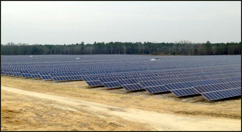 Huge Solar Power System Built In Mitchell Co Solar Solar Power System Solar Power