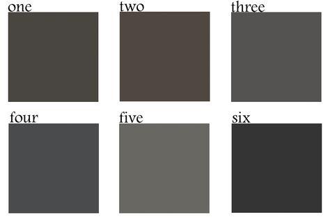 The 6 Best Dark Paint Colors Sherwin Williams Sealskin 2