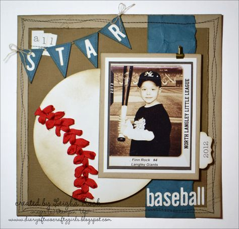 All Star Baseball by leighastamps - Cards and Paper Crafts at Splitcoaststampers